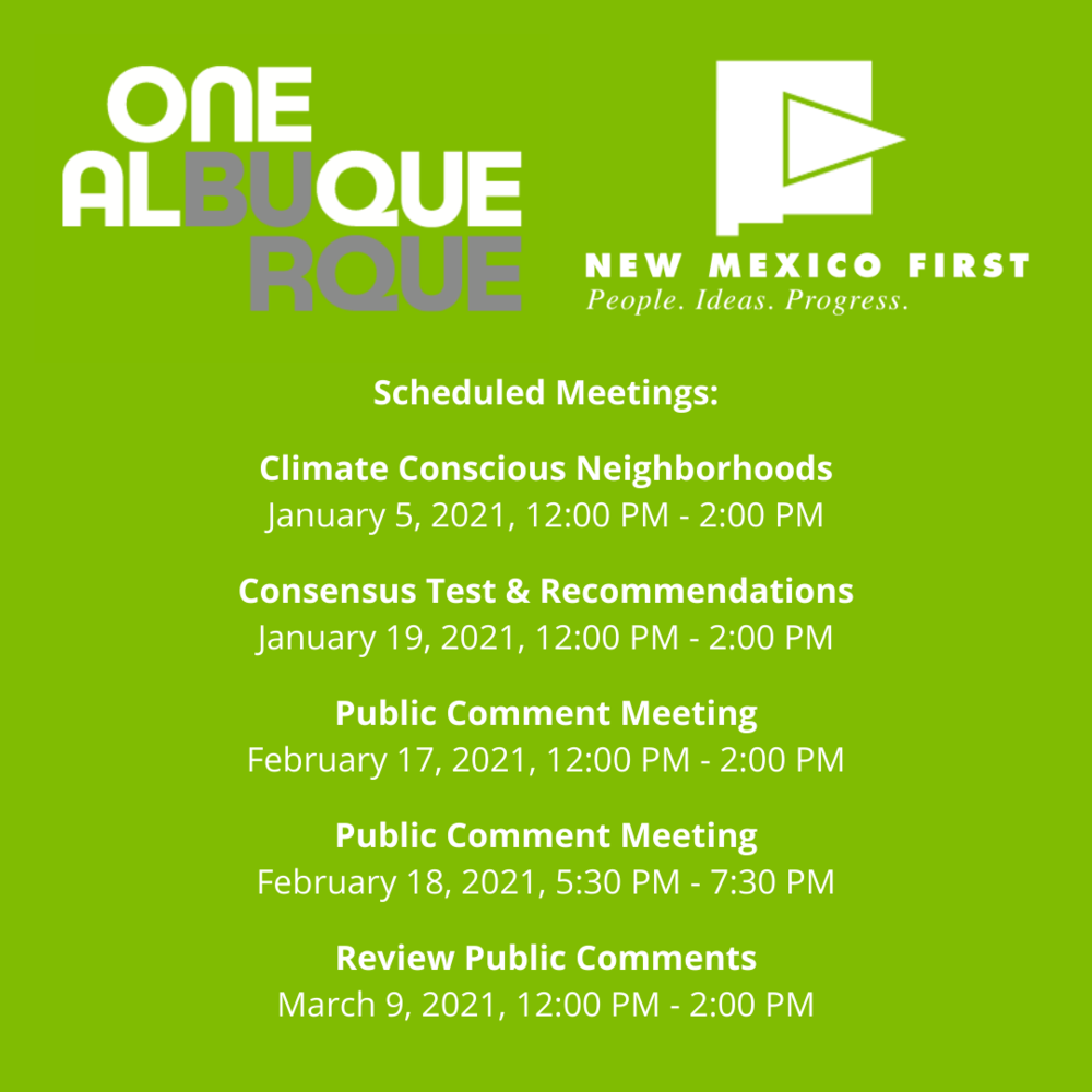 one Albuquerque climate task force